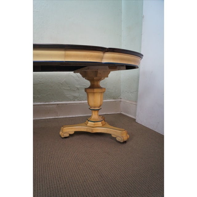 Vintage Louis XV Double Pedestal Dining Table - Image 9 of 10