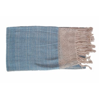 Oaxacan Indigo Table-Runner or Throw