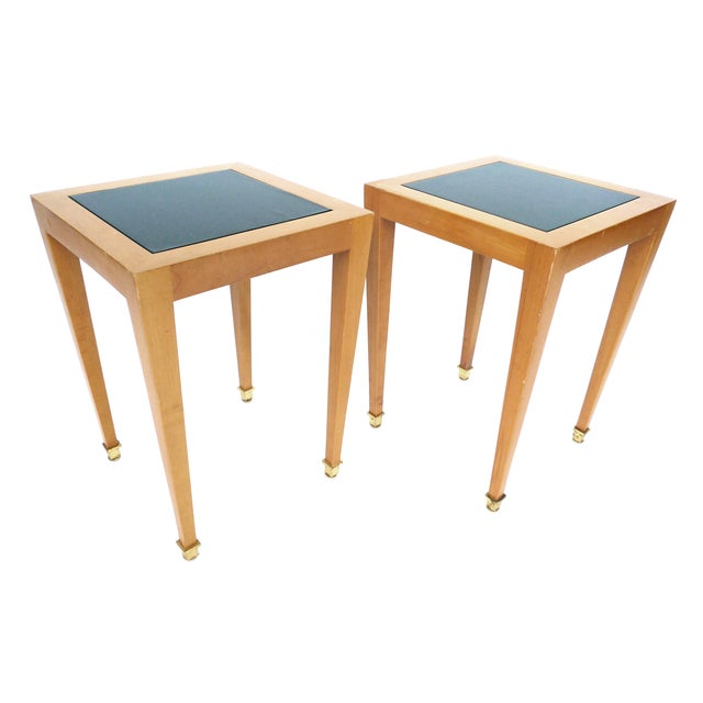 Donghia Madrid Square Side Tables - Image 2 of 10
