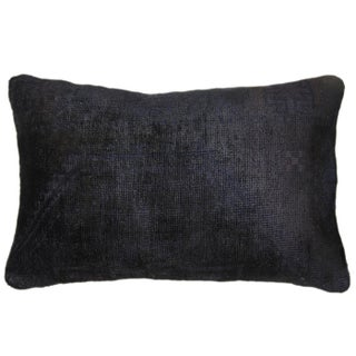 Overdye Lumbar Carpet Pillow