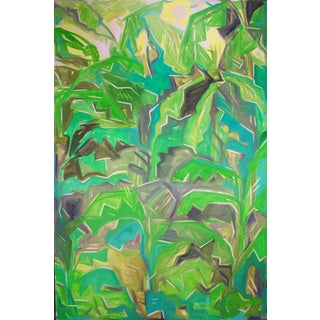 """Jungle View"" Extra-Large Oil Painting - Trixie Pitts"