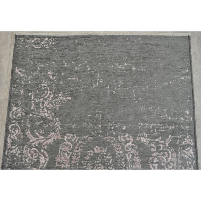 Gray Overdyed Turkish Rug - 3′11″ X 5′11″ - Image 6 of 9