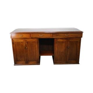 Antique Mahogany Architects Desk