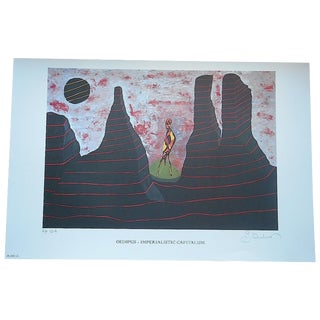 Signed Limited Edition Print by George Andreas