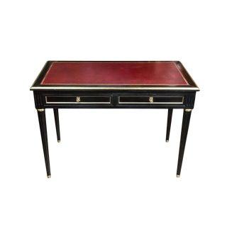 Lacquered, Louis XVI Style Desk