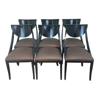 pietro costantini dining chairs set of 6 art deco dining furniture