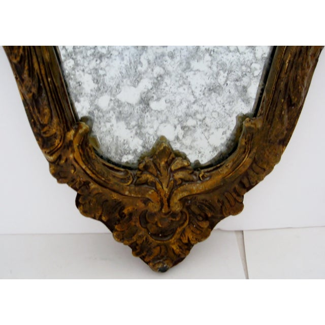Baroque-Style Wood Mirrors - A Pair - Image 7 of 11