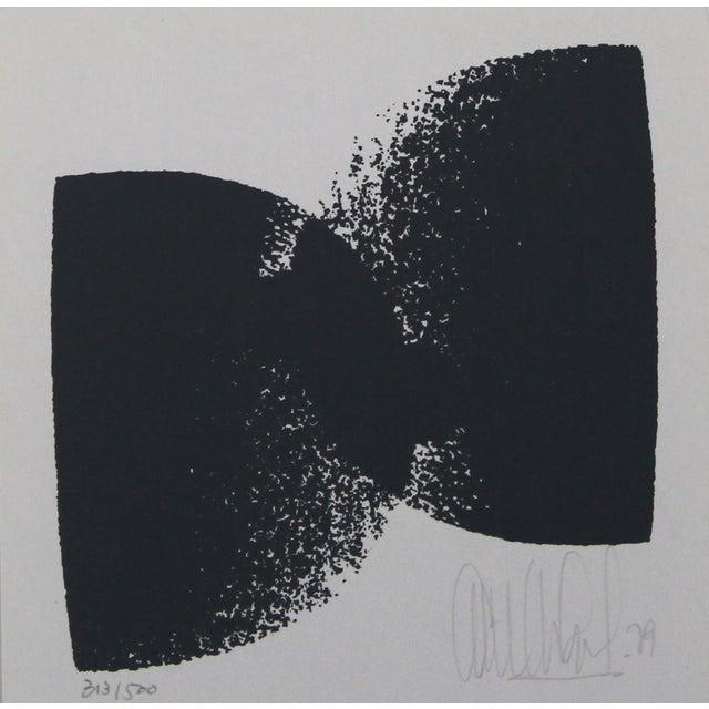 Image of Emilio Armengol Vintage 'Composition' Lithograph