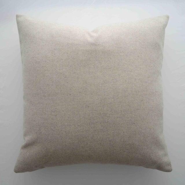 Italian Cream Sustainable Wool Pillow - Image 6 of 6