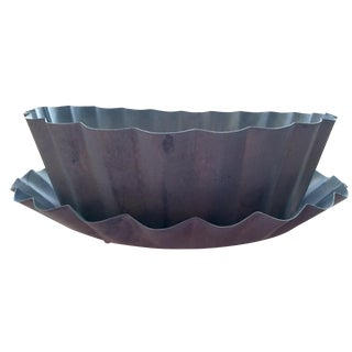 Large Iron Planter Cachepot
