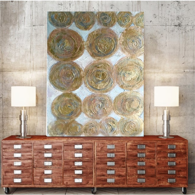 """""""Golden Circles"""" Painting by Bryan Boomershine - Image 3 of 4"""