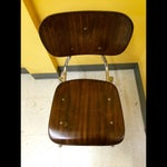 Image of Mid-Century Modern School Chairs - Set of 4