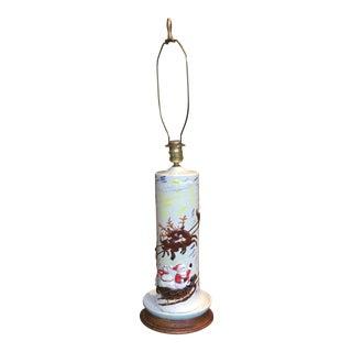 Mid-Century Ceramic Christmas Lamp