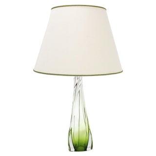 Val St Lambert Table Lamp