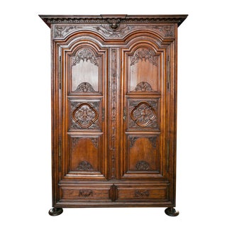 Exceptional Period Louis XIII to Louis IV Transitional Chateau Armoire