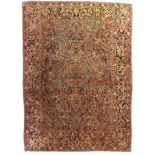 RugsinDallas Antique Persian Sarouk Rug - 8′3″ × 11′10″