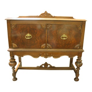 Jacobean Antique Buffet/Cabinet