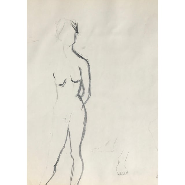 Original Two Nudes Sketch - Image 4 of 4