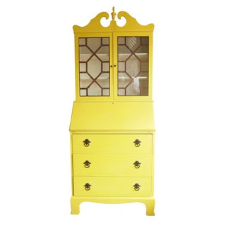 Vintage Yellow Secretary