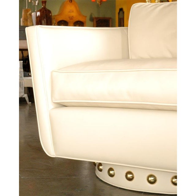 Customizable Paul Marra Swivel Lounge Chair - Image 9 of 10