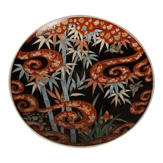 An impressive Imari platter from Japan c. 1895