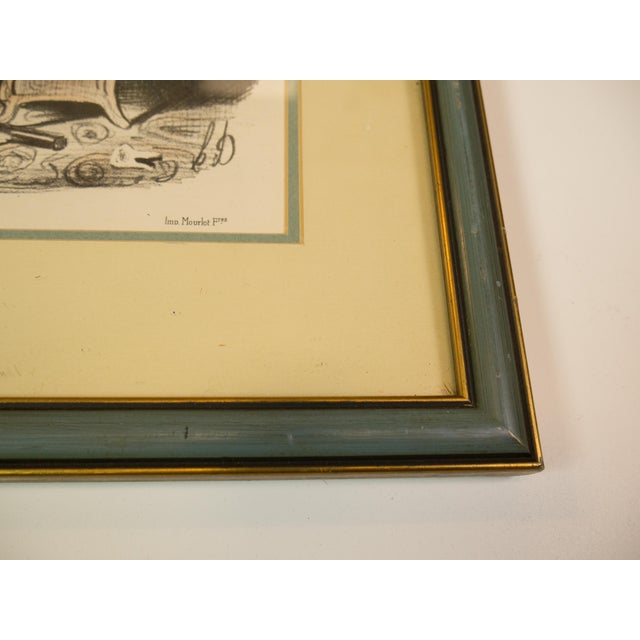 1900 Fernand Mourlot Colored Lithographs - Image 3 of 7