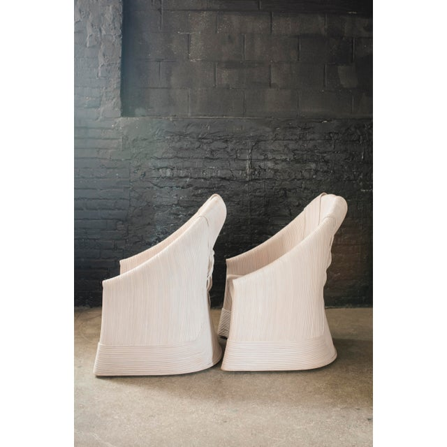 Rattan Scultura Armchairs or Dining Chairs by Betty Cobonpue - a Pair - Image 3 of 11