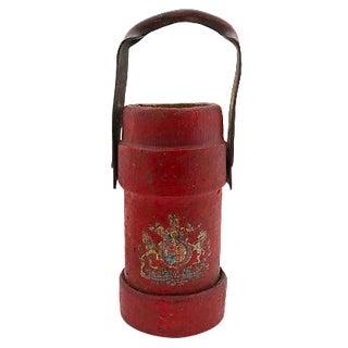 Antique English Ship's Gun Powder Bucket