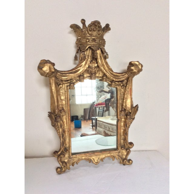 18th Century French Tassel Mirror - Image 3 of 11