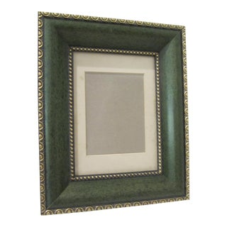 Green & Gold Picture Frame