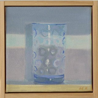 """Blue Glass"" Original Painting by Anne Carrozza Remick"