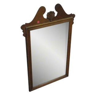Colonial Style Wood Mirror