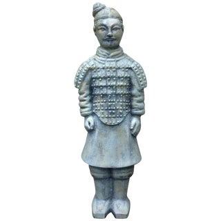 Cast Iron Asian Warrior Statue