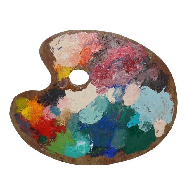 Extra Large Artist Palette - Image 1 of 9