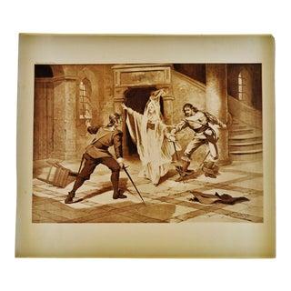 """Art I Puritani"" Bellini Opera Henry T Carris Photogravure"