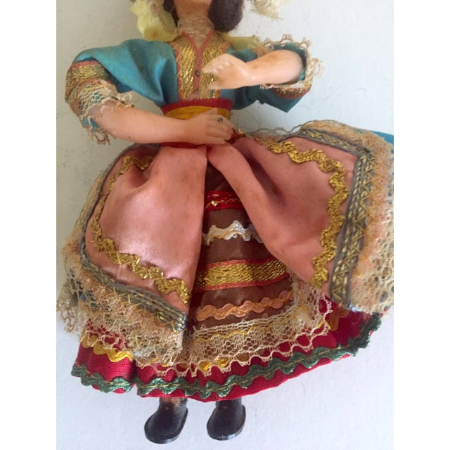 1950's Vintage Handcrafted Spanish Gypsy Souvenir Dolls- Set of 3 - Image 5 of 11