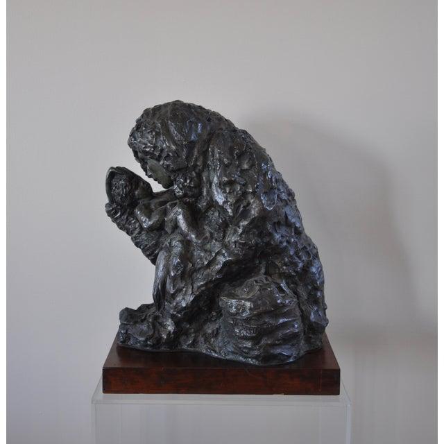 "Victor Salmones ""Madonna Con Nino"" Bronze Statue - Image 2 of 9"