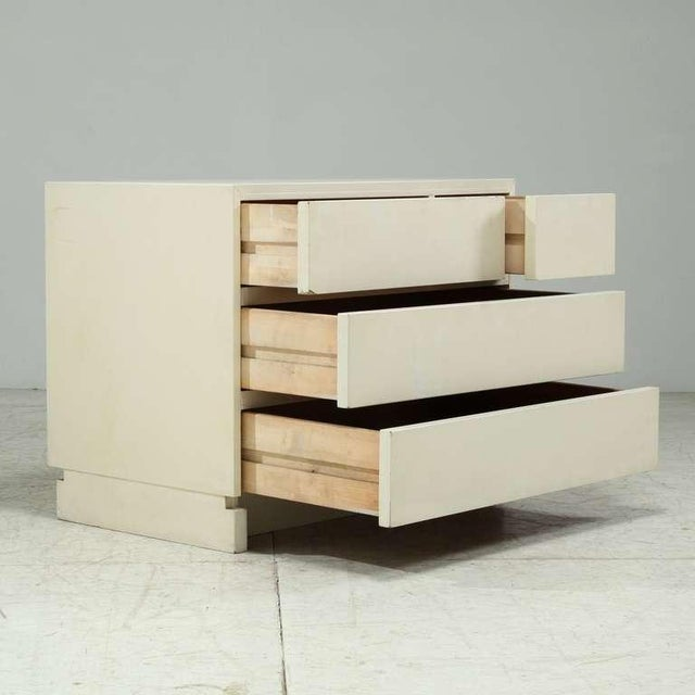 1950s Artek freestanding chest of drawers in white - Image 4 of 6