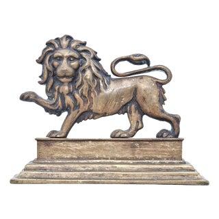 Victorian English Lion Door Stop