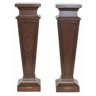 Ethan Allen Mahogany Pedestal