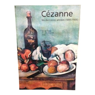 1978 Cezanne Exhibition Poster