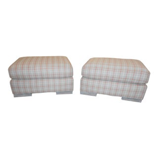 Vanguard Furniture Everheart Ottomans - A Pair