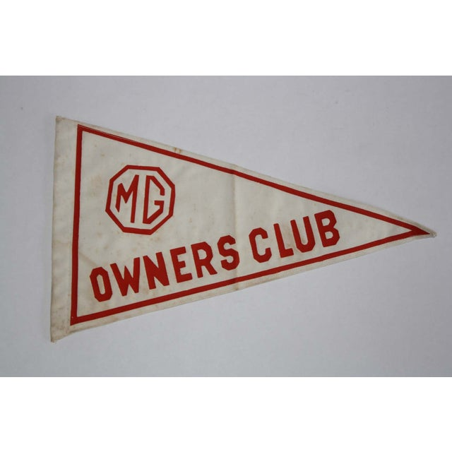 Image of MG Owners Club Pennant Flag