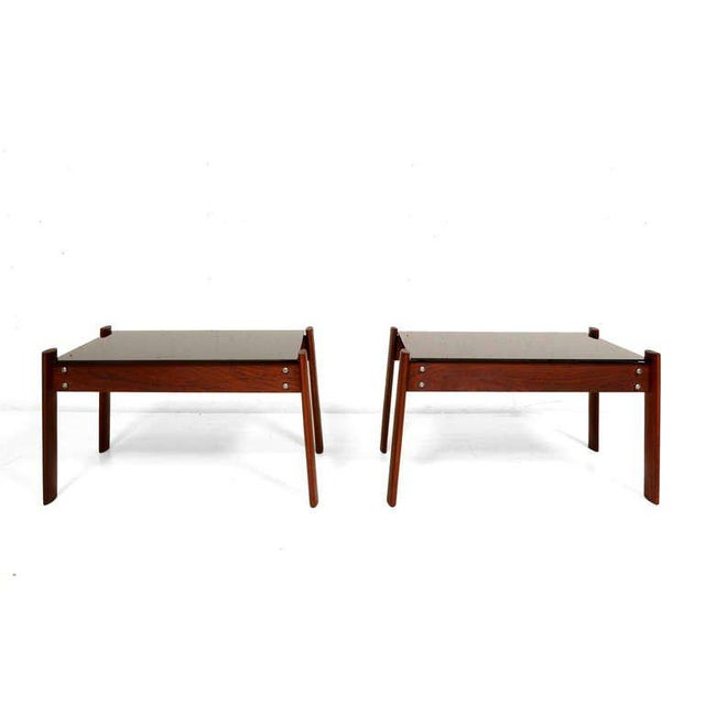Pair of Percival Lafer Side Tables - Image 2 of 5