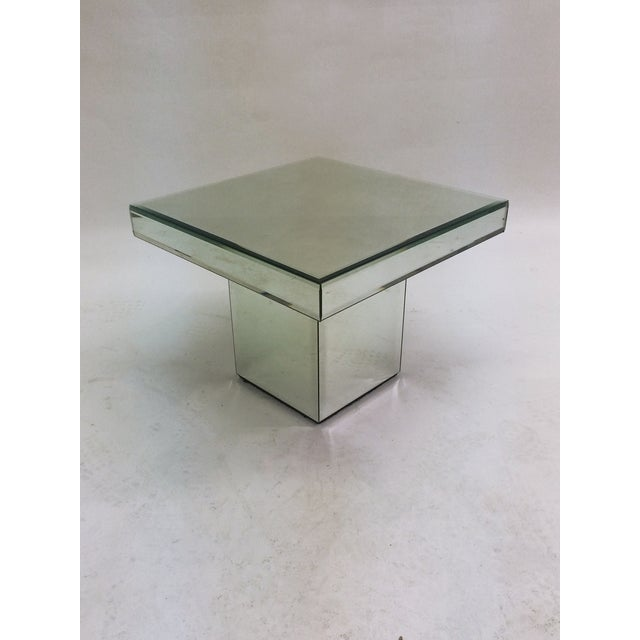 Mirrored End Tables - A Pair - Image 4 of 5