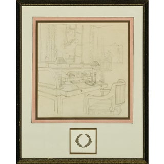 Interior Study Drawing
