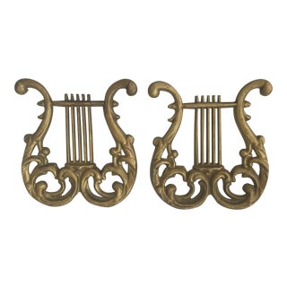 Musical Staffs - Vintage - a Pair