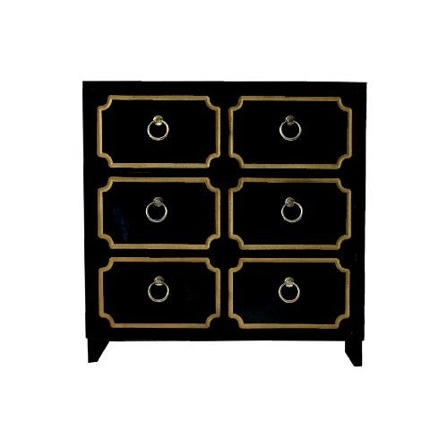 Dorothy Draper Style Chest of Drawers - Image 1 of 10