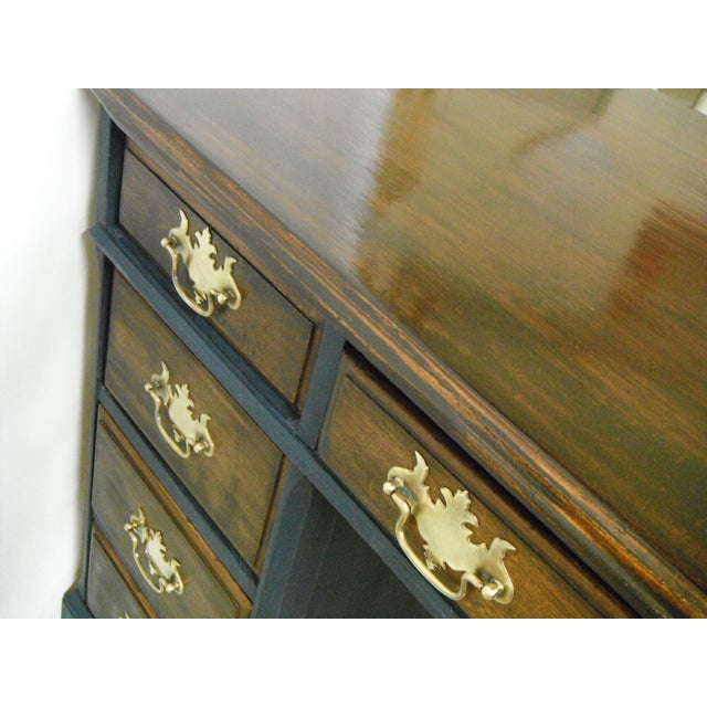 Antique Painted Federal Style Desk - Image 8 of 11