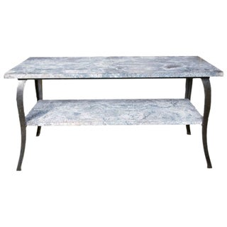 Two Tier Industrial Zinc Table